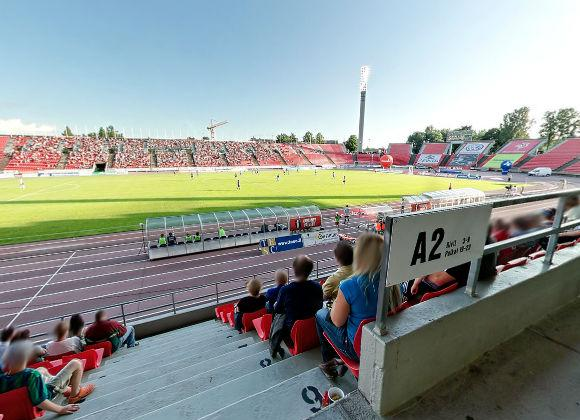 Ratinan Stadion Kartta